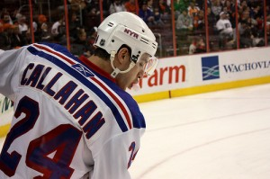 Ryan Callahan's energy is key to the Rangers' season. (Picture courtesy of Flickr)