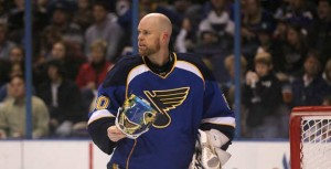 Chris Mason took over between the pipes for St. Louis last season. (Picture courtesy of ST. Louis Post-Dispatch)