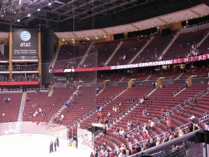 If Balsillie wins his bid for the Coyotes, a season of sparse crowds is expected. (Picture courtesy of flickr)