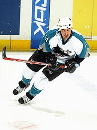 Can Jonathan Cheechoo regain his old form in Ottawa? (Picture courtesy of espn.com)