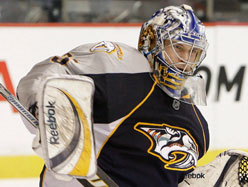 Pekka Rinne became a top NHL netminder last season. (Picture courtesy of canoe.com)