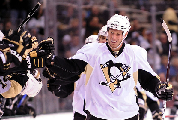 JThe Pens must be hoping that Jordan Staal's point production picks up. (Photo by Ronald Martinez/Getty Images North America)