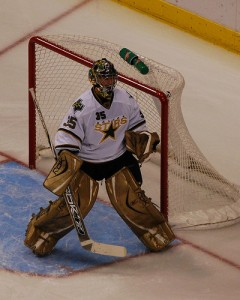 Marty Turco cannot possible be as bad as he was last season, can he? (Picture courtesy of Flickr)