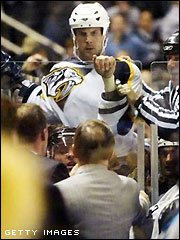 Don't mess with Shea Weber. (Picture courtesy of tsn.ca)