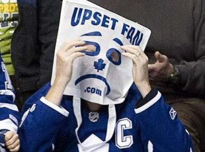 Upset Fan
