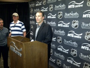 Winnipeg Jets GM Kevin Cheveldayoff