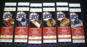 Jets Tickets