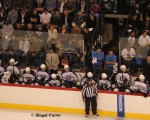 Jets Exhibition Game - bench intensity