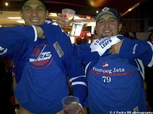JetsLeafs fans