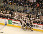 Boston Bruins bench