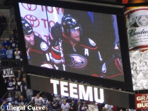 Will tonight's Game 7 be Teemu Selanne's final NHL game, or will the Ducks advance to the Western Conference Final?