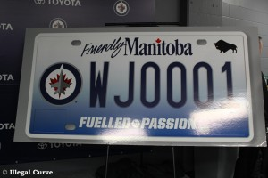 Jets reveal Licence Plate 001