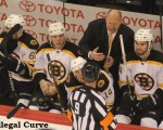 Bruins bench