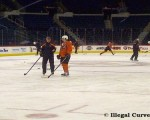 Flyers practice