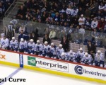 Leafs bench (vs. Jets)