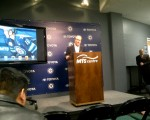 True North CEO Jim Ludlow unveils the new Winnipeg Jets mobile app
