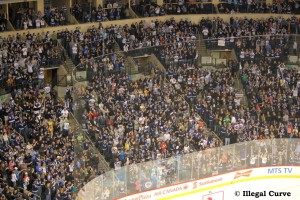 MTS Centre crowd going crazy