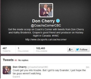 Cherry tweet
