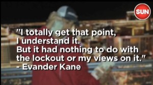 Kane regarding his tweet