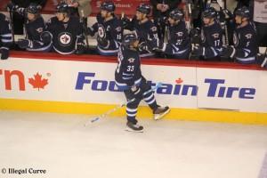 Byfuglien scores 3rd goal of game - Janaury 27, 2013 vs. Islanders