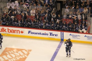 Jets bench - January 19, 2013