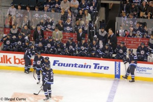Jets bench - January 27, 2013