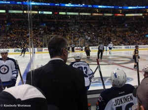 Jets vs. Bruins - Coach Noel