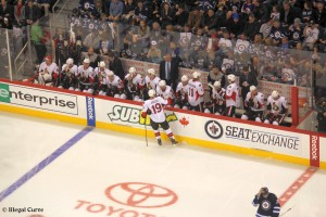 Senators bench - January 19, 2013