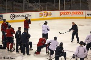 February 3, 2013 Jets practice