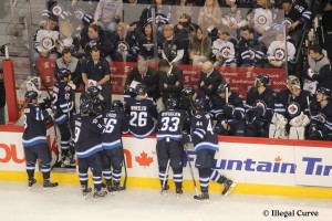 Jets bench - Feb 15, 2013