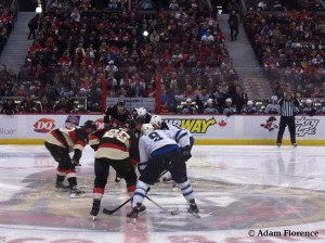 Jets vs. Sens