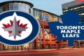 Leafs at Jets