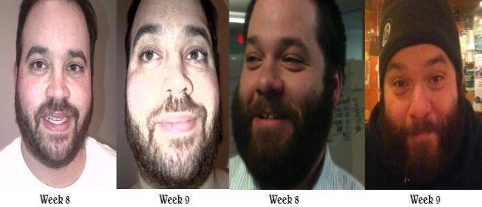 Week 8 to Week 9