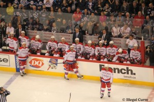 Caps bench - March 2013 (2nd game)