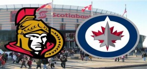 Jets at Sens