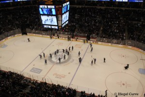 Jets beat Rangers - March 14