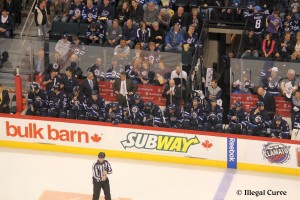 Jets bench - March 14