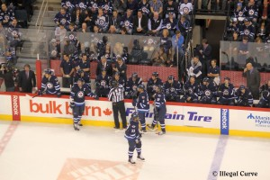 Jets bench - March 2013 (2nd game)