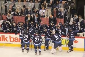 Jets bench - March 2013