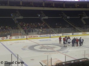 March 1, 2013 Jets on ice with Kids