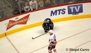 Bogosian after hit by Okposo