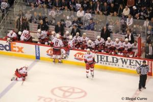 Canes bench - April 18, 2013