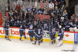 Jets bench - April 11, 2013