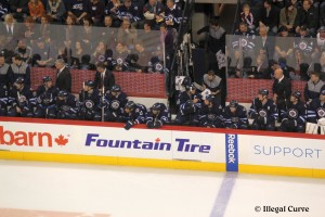 Jets bench - April 16, 2013