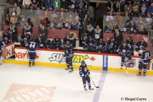 Jets bench - April 18, 2013