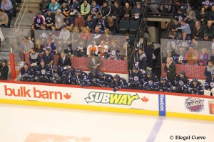 Jets bench (April 6, 2013)