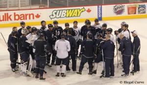Jets practice - April 8