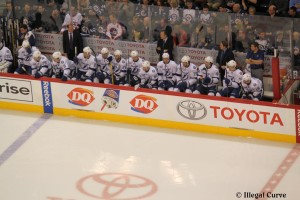 Lightning bench - April 16, 2013