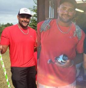 Dustin Byfuglien looking svelte