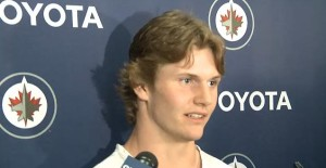 Jacob Trouba at Development Camp